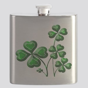 St Patrick Shamrocks PD Flask
