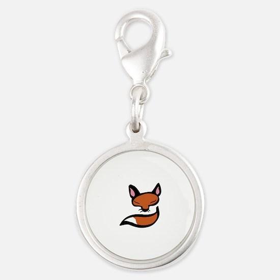 Fox Head & Tail Charms