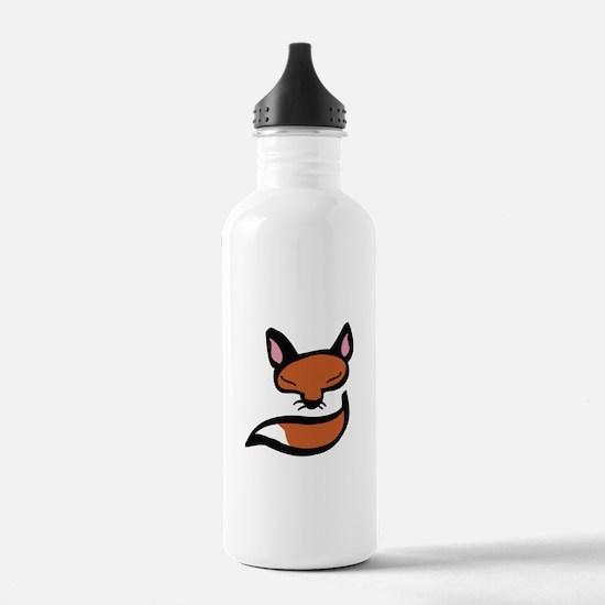 Fox Head & Tail Water Bottle