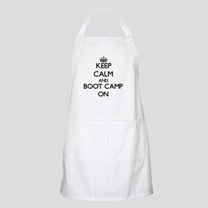 Keep Calm and Boot Camp ON Apron