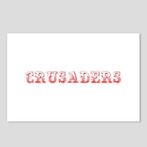 Crusaders-Max red 400 Postcards (Package of 8)