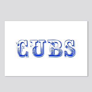 Cubs-Max blue 400 Postcards (Package of 8)