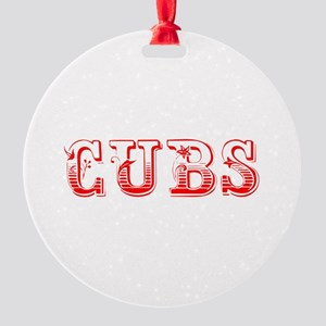 Cubs-Max red 400 Ornament