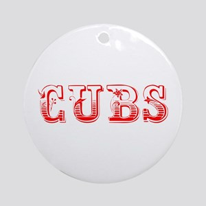 Cubs-Max red 400 Ornament (Round)