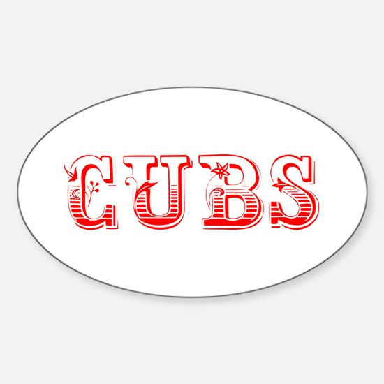 Cubs-Max red 400 Decal