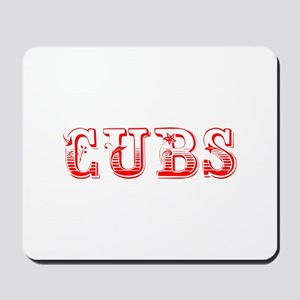 Cubs-Max red 400 Mousepad