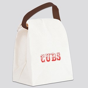 Cubs-Max red 400 Canvas Lunch Bag