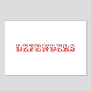 Defenders-Max red 400 Postcards (Package of 8)