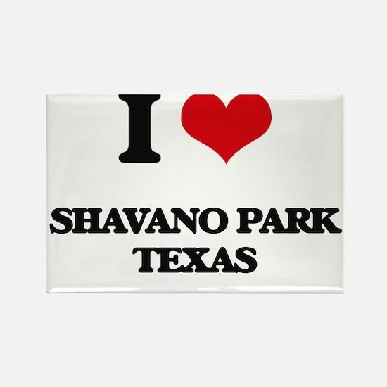 I love Shavano Park Texas Magnets
