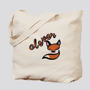 Clever Fox Tote Bag