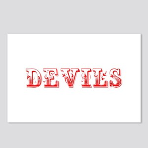 devils-Max red 400 Postcards (Package of 8)