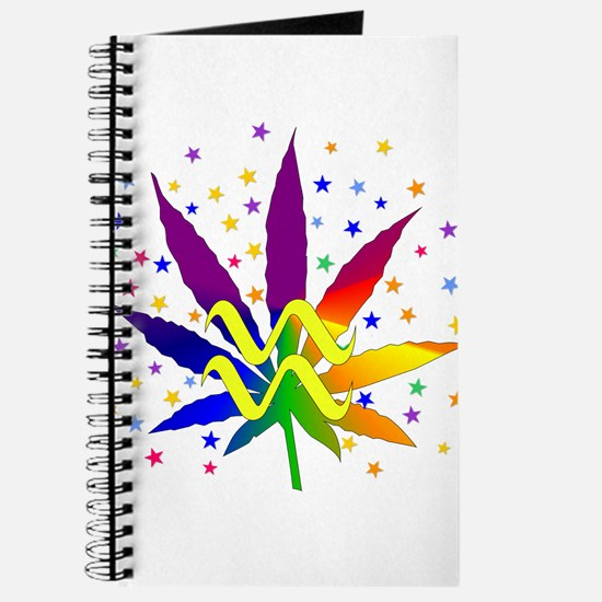 Rainbow Marijuana Aquarius Journal