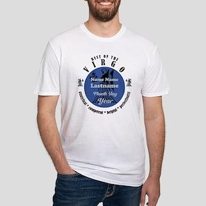 Custom Text Virgo Horoscope Zodiac Sign T-Shirt