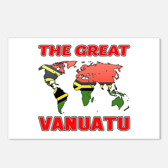 The Great Vanuatu Postcards (Package of 8)
