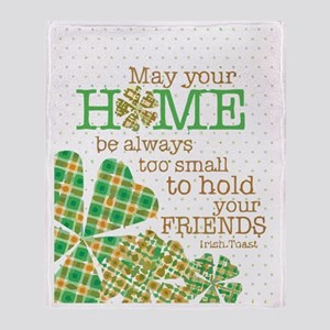 St. Patrick Day Throw Blanket