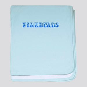 Firebirds-Max blue 400 baby blanket