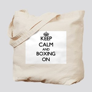 Keep Calm and Boxing ON Tote Bag