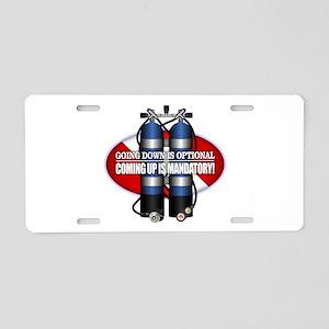 GDIO (ST) Aluminum License Plate