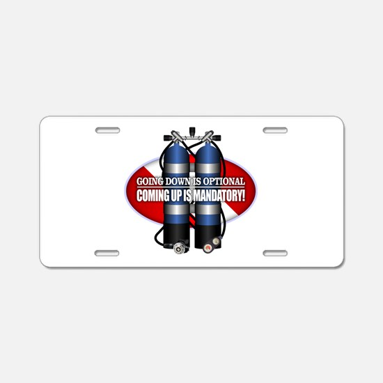 GDIO (ST) Aluminum License Plate