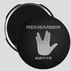 SPOCK REMEMBER Magnet