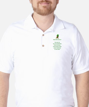 IRISH DIPLOMACY Golf Shirt