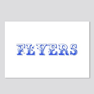 Flyers-Max blue 400 Postcards (Package of 8)