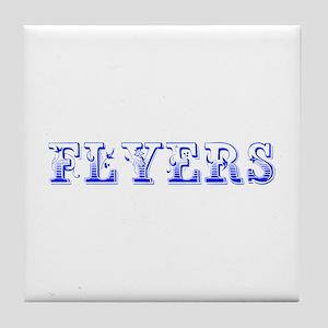 Flyers-Max blue 400 Tile Coaster
