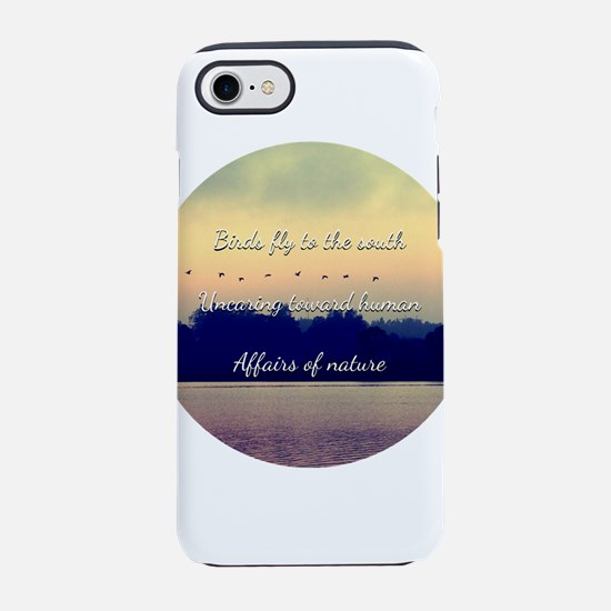Birds fly to the south iPhone 7 Tough Case