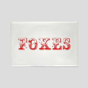 Foxes-Max red 400 Magnets