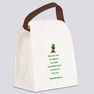 IRISH BLESSING Canvas Lunch Bag