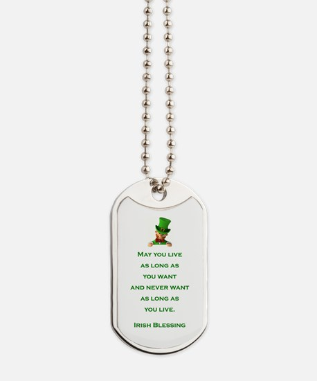 IRISH BLESSING Dog Tags