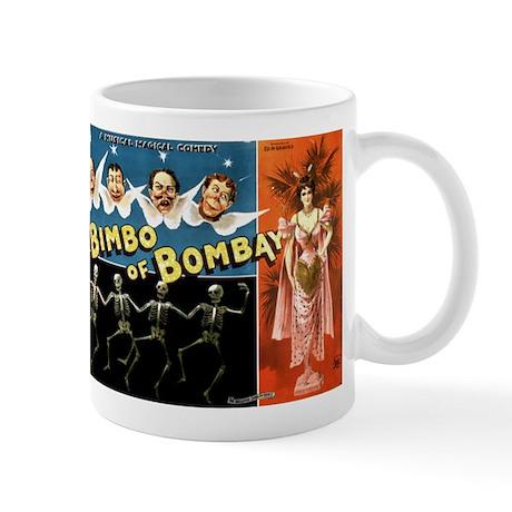 BIMBO OF BOMBAY coffee cup