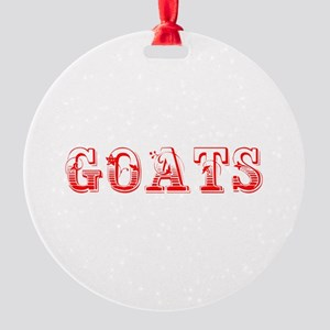 Goats-Max red 400 Ornament