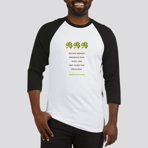 IRISH PROVERB Baseball Jersey
