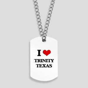 I love Trinity Texas Dog Tags