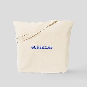 Gorillas-Max blue 400 Tote Bag