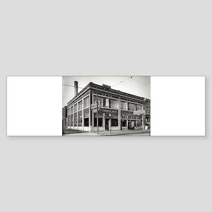 Detroit circa 1912. Dime Savings Ba Bumper Sticker