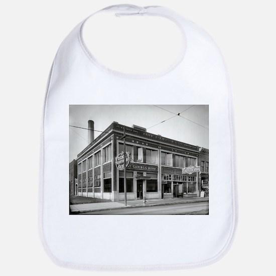 Detroit circa 1912. Dime Savings Bank, Woodwar Bib