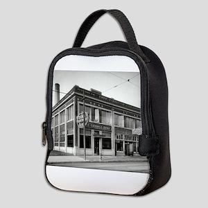 Detroit circa 1912. Dime Saving Neoprene Lunch Bag