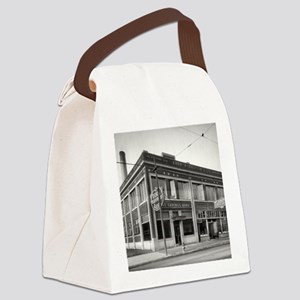 Detroit circa 1912. Dime Savings Canvas Lunch Bag
