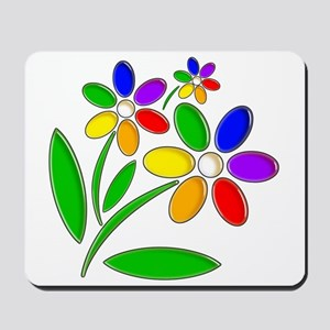 Jelly Flowers Mousepad