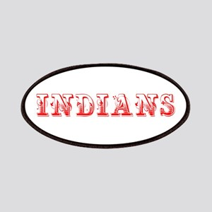 Indians-Max red 400 Patch