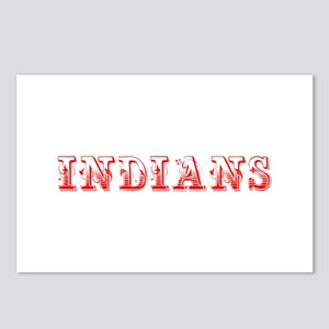 Indians-Max red 400 Postcards (Package of 8)