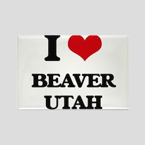 I love Beaver Utah Magnets