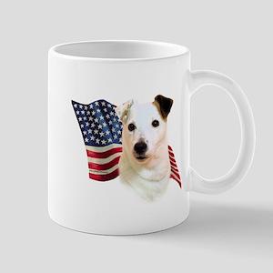 Jack Russell Terrier Flag Mug