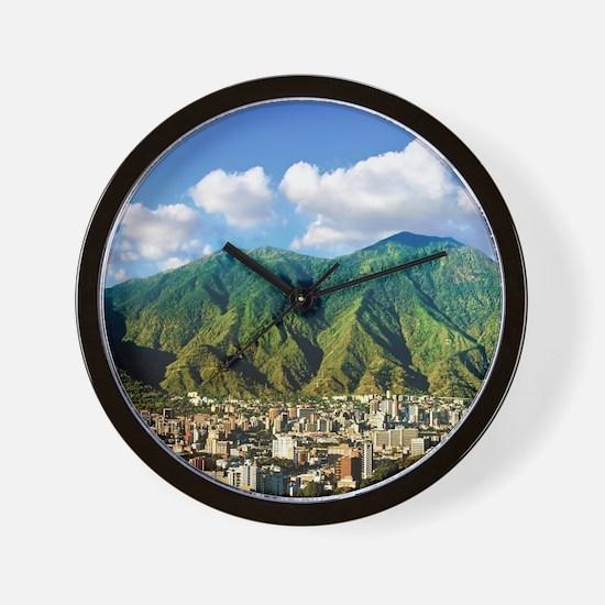 National Park of El Avila, Caracas Wall Clock