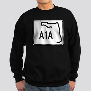 Route A1A, Florida Sweatshirt (dark)
