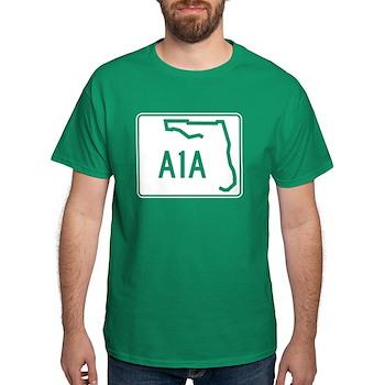 Route A1A, Florida Dark T-Shirt