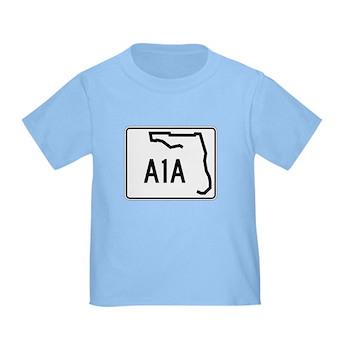 Route A1A, Florida Toddler T-Shirt