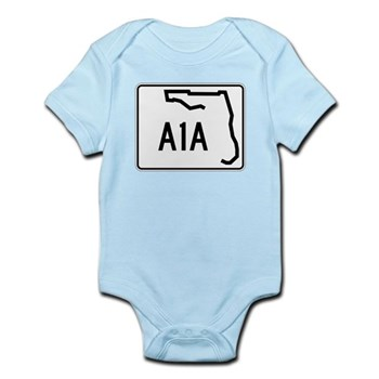 Route A1A, Florida Infant Bodysuit